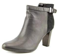 Alfani Womens Donelle Leather Closed Toe Ankle Fashion Boots.