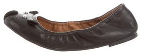 Marc by Marc Jacobs Leather Cat Flats