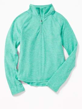 Old Navy 1/4-Zip Performance Pullover for Girls