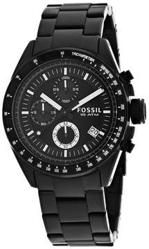 Fossil Decker CH2601A Black Dial Watch