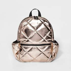 Mossimo Supply Co. Women's Quilted Backpack - Mossimo Supply Co. Rose Gold