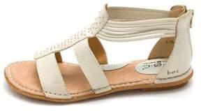 b.ø.c. Womens Kenza Leather Open Toe Casual T-strap Sandals.