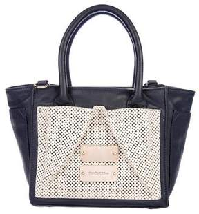 See by Chloe Perforated Leather Satchel