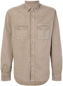 Officine Generale chest pocket shirt