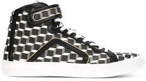 Pierre Hardy 'Cube' hi-top sneakers