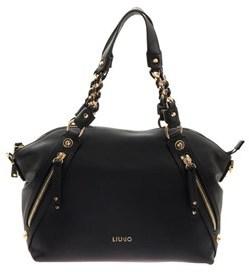 Liu Jo Women's Black Polyester Handbag.