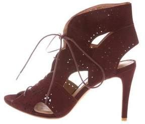 Joie Suede Lace-Up Sandals