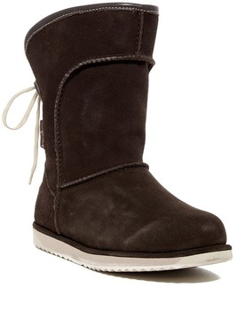 Emu Charlotte Lace-Up Genuine Sheepskin Lined Waterproof Boot