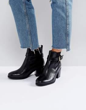 Carvela Heeled Buckle Strap Boot