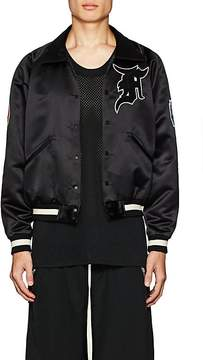 Fear Of God Men's Appliquéd Tech-Satin Coach's Jacket
