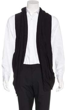 Julius Wool-Blend Open-Front Vest w/ Tags