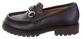 Gucci Boys' Horsebit Leather Loafers