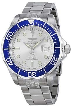 Invicta Grand Diver Silver Dial Men's Watch