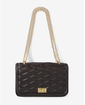 Express Diamond Quilted Chain Strap Shoulder Bag