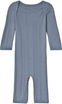 Mini A Ture Noa Noa Miniature China Blue Long Sleeve Jumpsuit