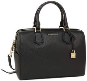 Michael Kors Mercer Medium Satchel - BLACK - STYLE