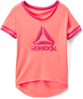 Reebok Papaya Punch 'Reebok' Good Things Tee - Toddler & Girls