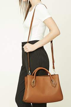 FOREVER 21 Faux Leather Satchel