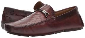Matteo Massimo Perf Vamp Rope Bit Men's Slip-on Dress Shoes