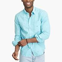 J.Crew Factory Slim washed shirt in floral