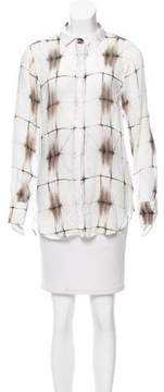 Bella Dahl Tie-Dye Button-Up to