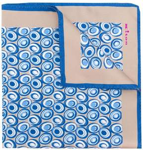 Kiton dotted pocket square