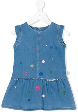 Little Marc Jacobs printed denim dress