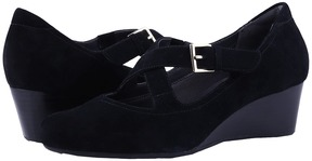 Rockport Total Motion Luxe 45mm Wedge 2-Strap Women's Shoes