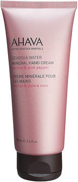 Ahava Dead Sea Mineral Hand Cream Cactus & Pink Pepper