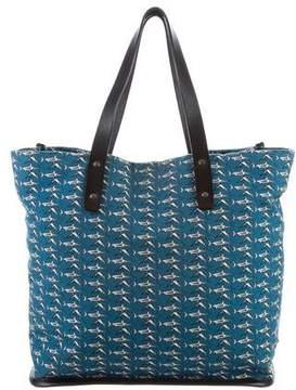 Dolce & Gabbana Leather-Trimmed Printed Bag