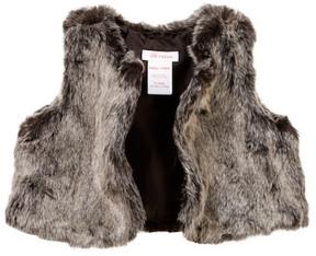 Joe Fresh Faux Fur Vest (Baby Girls)