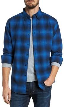 Pendleton Men's Lister Ombre Plaid Sport Shirt