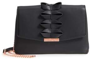 Ted Baker Looped Bow Leather Shoulder Bag