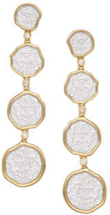 Coomi Serenity Graduated Drop Earrings with Diamonds