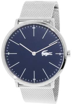 Lacoste Men's Moon 2010900 Silver Stainless-Steel Quartz Fashion Watch
