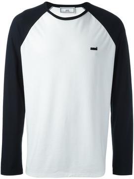 Ami Alexandre Mattiussi baseball T-shirt