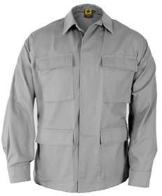 Propper Men's Bdu 4-pocket Coat 65p/35c Short.