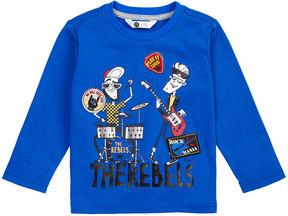 Petit Lem Long-Sleeve Rock-&-Roll Band T-Shirt, Size 2-6X