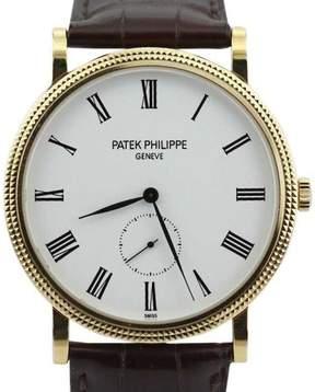 Patek Philippe Calatrava 5119J-001 18K Yellow Gold Manual Wind Watch