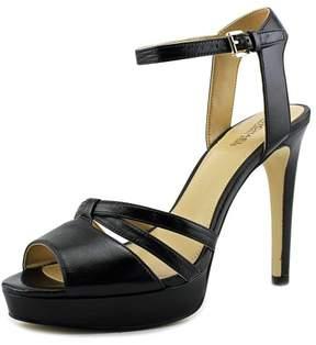 Michael Kors Michael Catalina Women US 9.5 Black Platform Heel