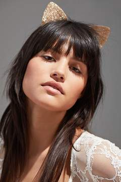 Urban Outfitters Shimmer Cat Ear Headband
