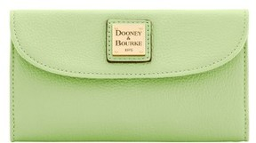 Dooney & Bourke Belvedere Continental Clutch Wallet - KEY LIME - STYLE