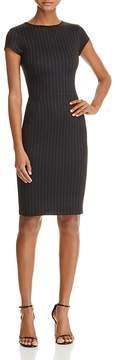 Aqua Pinstriped Sheath Dress - 100% Exclusive