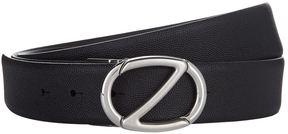 Z Zegna Reversible Leather Belt