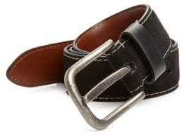 Saks Fifth Avenue COLLECTION Solid Suede Belt