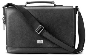 Shinola Men's Leather Messenger Bag - Black