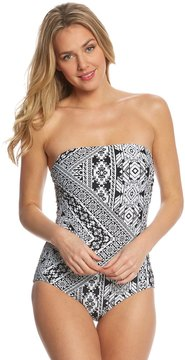 Coco Rave Playa It Cool Ariana Bandeau One Piece Swimsuit 8153877