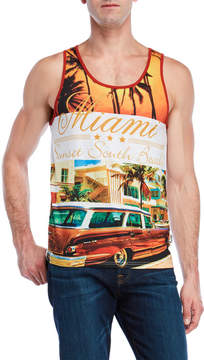 Soul Star Miami South Beach Muscle Tank