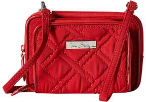 Vera Bradley On The Square Wristlet Wristlet Handbags - TANGO RED/RED - STYLE
