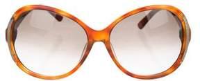 Fendi Zucca Tortoiseshell Sunglasses